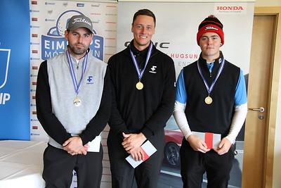 Andri Þór Björnsson, Axel Bóasson, Tumi Hrafn Kúld. Mynd/seth@golf.is
