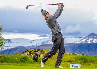 Henning Darri Þórðarson, GK. Símamótið, Hamarsvöllur.  Mynd/seth@golf.is