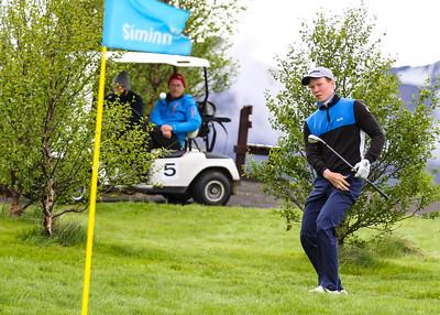 Fannar Ingi Steingrímsson, GHG. Símamótið, Hamarsvöllur.  Mynd/seth@golf.is