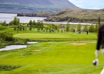 Símamótið, Hamarsvöllur.  Mynd/seth@golf.is