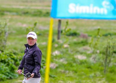Berglind Björnsdótitir, GR.  Símamótið, Hamarsvöllur.  Mynd/seth@golf.is