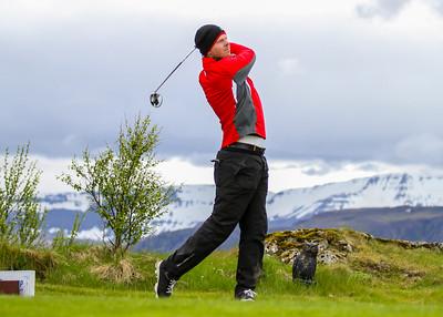 Theodór Emil Karlsson, GM. Símamótið, Hamarsvöllur.  Mynd/seth@golf.is