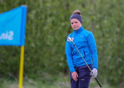 Hulda Clara Gestsdóttir, GKG. Símamótið, Hamarsvöllur.  Mynd/seth@golf.is