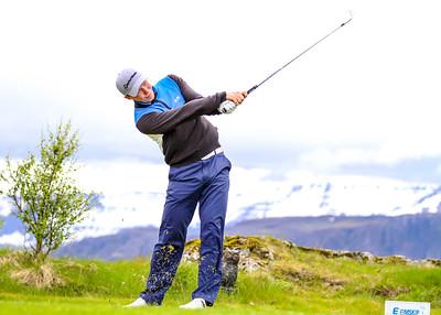 Fannar Ingi Steingrímsson, GJG. Símamótið, Hamarsvöllur.  Mynd/seth@golf.is