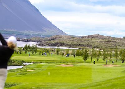 Símamótið, Hamarsvöllur.  Mynd/seth@golf.is Símamótið, Hamarsvöllur.  Mynd/seth@golf.is