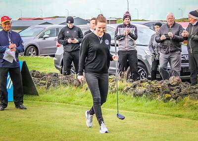 Íris Róbertsdóttir bæjarstjóri Vestmannaeyja. Mynd/seth@golf.is