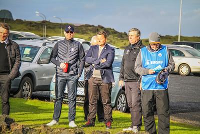 Eyþór Harðarson, Stefán Garðarsson, Haukur Örn Birgsson, Þórður Ingason, Anton Ingi Þorsteinsson.  Mynd/seth@golf.is
