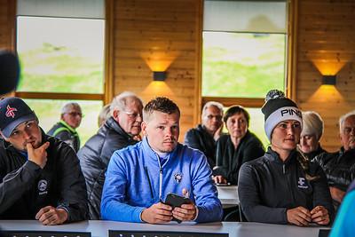 Henning Darri Þórðarson, Ólafur Björn Loftsson, Guðrún Brá Björgvinsdóttir. Mynd/seth@golf.is