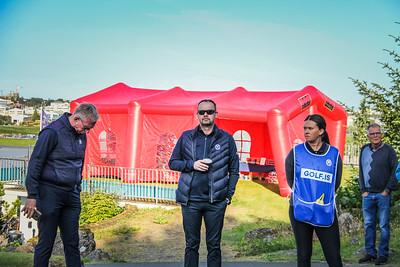 David Barnwell, Stefán Garðarsson Íslandsmót golf 2019 Grafarholt - 1. keppnisdagur. Mynd: seth@golf.is