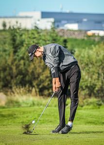 GL, Björn Viktor Viktorsson Íslandsmót í golfi 2019 - Grafarholt 2. keppnisdagur Mynd: seth@golf.is