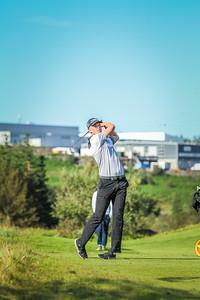 Ragnar Áki Ragnarsson.  Íslandsmót í golfi 2019 - Grafarholt 2. keppnisdagur Mynd: seth@golf.is