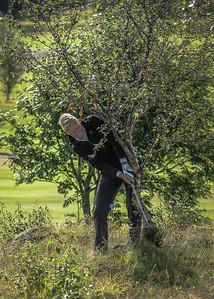 Helgi Snær Björgvinsson.  Íslandsmót í golfi 2019 - Grafarholt 2. keppnisdagur Mynd: seth@golf.is