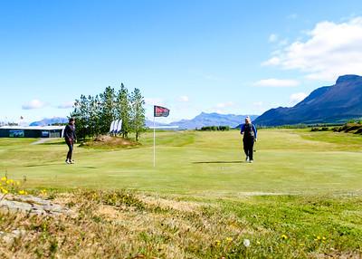 Saga Traustadóttir, Hafdís Alda Jóhannsdóttir.  Mynd/seth@golf.is