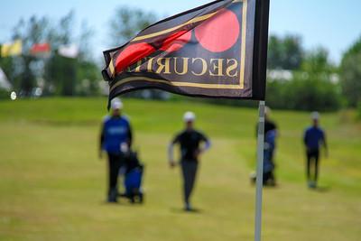 Frá 1. flöt á Garðavelli.  Mynd/seth@golf.is