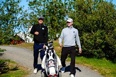 Ólafur Björn Loftsson, Kristján Þór Einarsson.  Mynd/seth@golf.is
