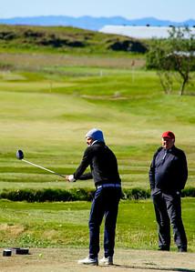 Ólafur Björn Loftsson, Jón Alfreðsson.  Mynd/seth@golf.is