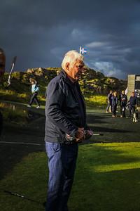 Georg Tryggvason, einn af stofnendum Kjalar.  Íslandsmót í golfi 2020 - 1. keppnisdagur. Mynd/seth@golf.fis