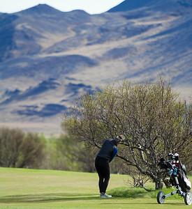 Hafdís Alda Jóhannsdóttir.  Mynd: seth@golf.is Sigurður Elvar Þórólfsson