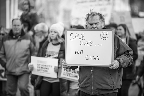 Protesters agree that saving lives is more important