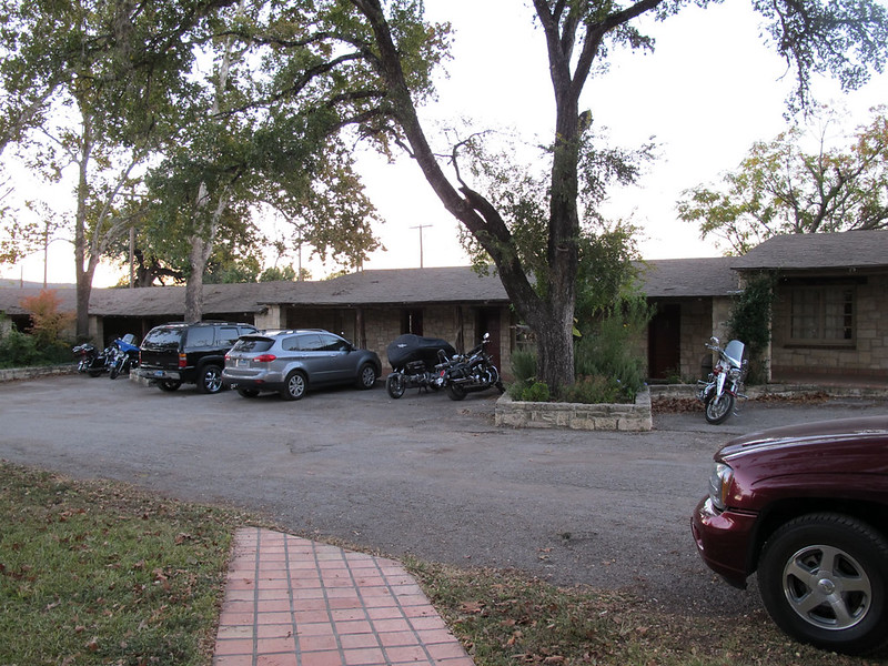 Frio Canyon Lodge in Leakey, TX where we stayed
