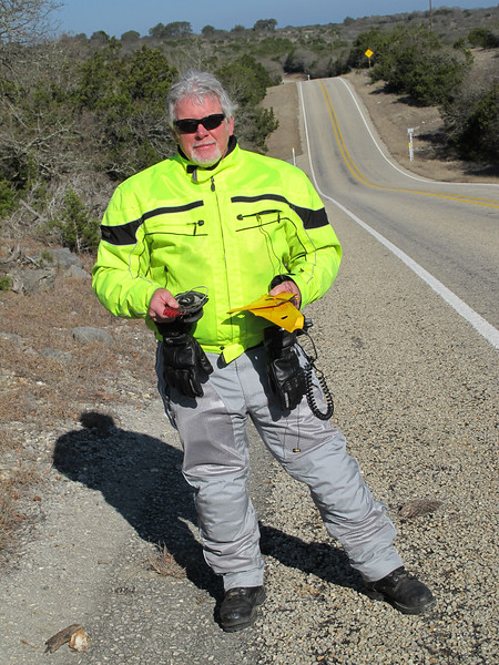 Me with found parts. Not the armored mesh jacket & pants!