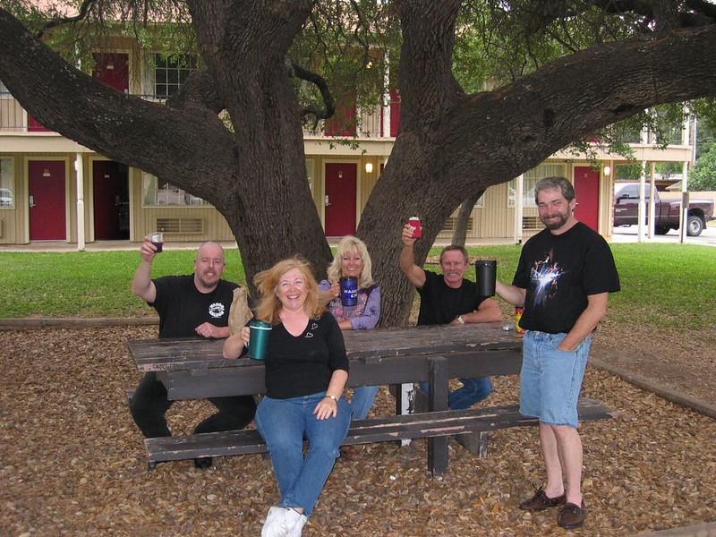 Under the drinking tree in Uvalde, TX