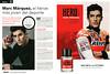 MARC MÁRQUEZ Hero Sport 2016 Spain spread (Clarel stores) 'Marc Márquez, el héroe más jóven del deporte - Una meta, la victoria - La nueva fragancia de Marc Márquez'