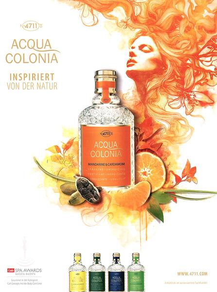 MAURER & WIRTZ Nº 4711 Acqua Colonia Mandarine & Cardamom 2012 Germany 'Ispiriert von der Natur'
