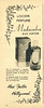 MAX FACTOR Madreselva1955 Argentina half page 'Con el tradicional y exquisito perfume de la flor...'