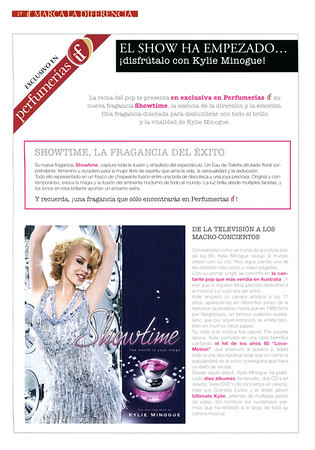 KYLIE MINOGUE Showtime 2008 Spain (promo IF stores)