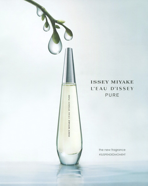 ISSEY MIYAKE L'Eau d'Issey Pure 2016 Spain (format Joyce 22,5 x 27,5 cm) 'The new fragrance'