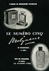 MOLYNEUX Le Numéro Cinq 1955 Spain (format 16 x 23 cm) 'Parfum de renommée mondiale'