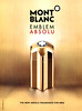 MONTBLANC Emblem Absolu 2016 Saudi Arabia-UAE 'The new absolu fragrance for men'