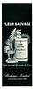 MONTEIL Fleur Sauvage 1961 France half page 'Le plus provocant des parfums de Paris'