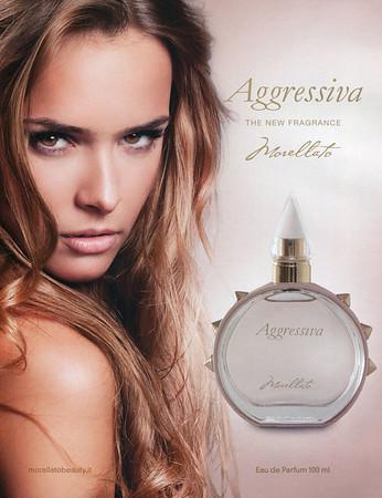 MORELLATO Aggressiva 2015 Italy 'The new fragrance'