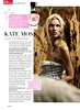 KATE MOSS Kate 2007 Spain spread (advertorial Glamour) 'Kate Moss, icono de belleza'