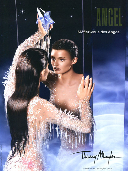 THIERRY MUGLER Angel 2007 France 'Méfiez-vous des anges...'