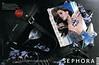THIERRY MUGLER Angel Eau de Parfum  2013 France spread (Sephora stores) 'Dans le sac d'une femme on peut trouver plein de choses...'