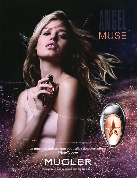 THIERRY MUGLER Angel Muse 2016 France 'Le nouveau parfum que vous allez détester adorer - #HateToLove'