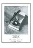 MYRURGIA Joya Extracto 1952 Spain (format 13 x 18 cm) 'Una creación suprema de Myrurgia'