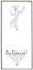 MYRURGIA Divers 1929 Spain half page (text in Catalan) 'Els perfums de 'Myrurgia' son l'efluvi d'un pomell de jovenesa'<br /> ILUSTRATOR: Jener (Eduard Jener i Casellas), Spain