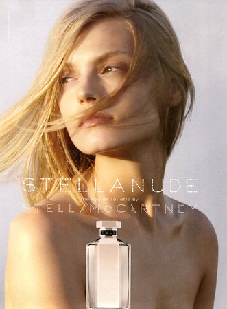 STELLA MCCARTNEY Stella Nude 2009 UK 'The Eau de Toilette by Stella McCartney'<br /> MODEL:  Anna Jagodzinska, PHOTO: Ryan McGinley