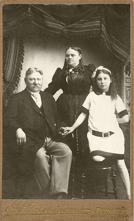 Einar, Guðrún og Anna