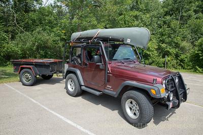 2004 Jeep Wranger w/ M416 1/4 Ton Trailer