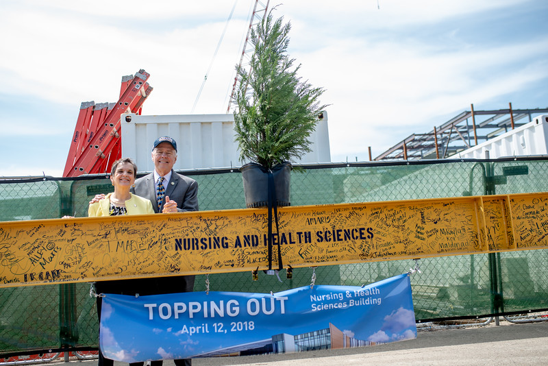 M18164-Nursing & Health Science Center Topping Out-7371
