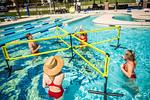 M21086- Campus Rec Pool, Lifeguards playing-1206