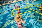 M21086- Campus Rec Pool, Lifeguards playing-1197