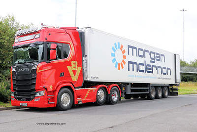 SCANIA V8 OKZ2904 Morgan McLerron