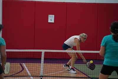 MA Sr Pickleball Tournament - Bev and Chris on Different Court    - 204