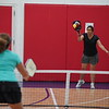 MA Sr Pickleball Tournament - Bev and Chris on Different Court    - 120